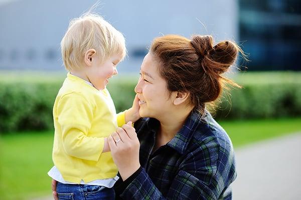 toddler-caregiver