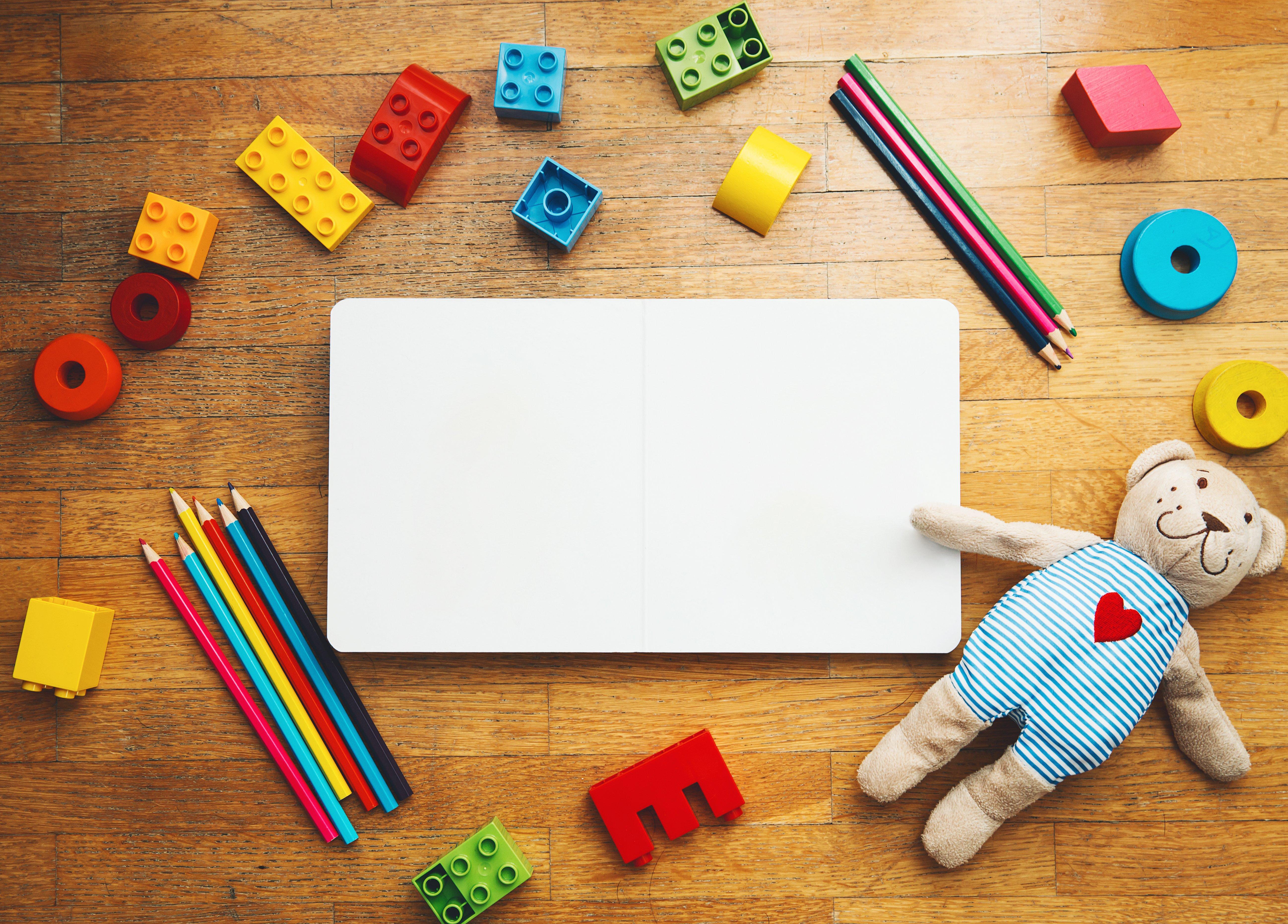 Canva - Kindergarten or preschool background.